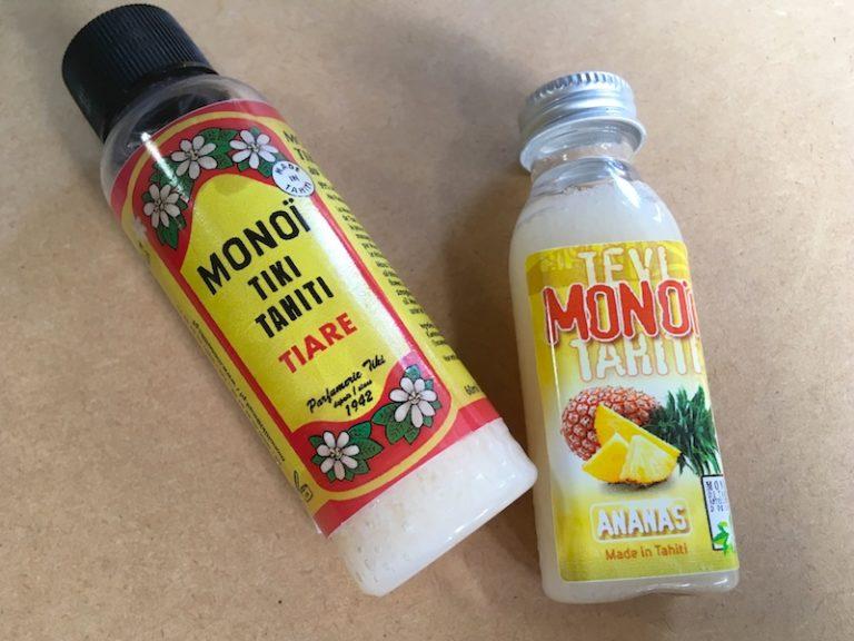 ♪良い香り♪タヒチ名物【モノイオイル ティアレ】を使ってみた感想
